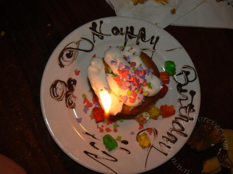 Boma, Disney's Animal Kingdom Lodge: Birthday Treat