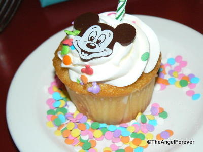 Chef Mickey, Disney's Contemporary Resort: Birthday Treat