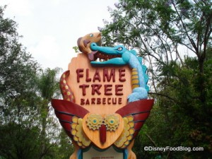 Animal Kingdom: Flame Tree Barbecue
