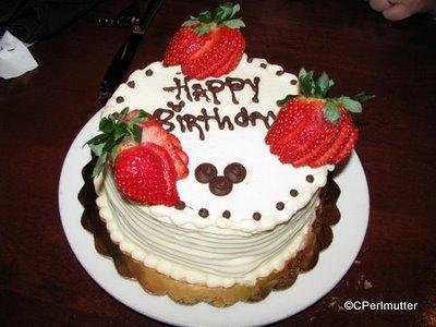 Boma, Disney's Animal Kingdom Lodge: Advance Reserved Birthday Cake by Chef TJ