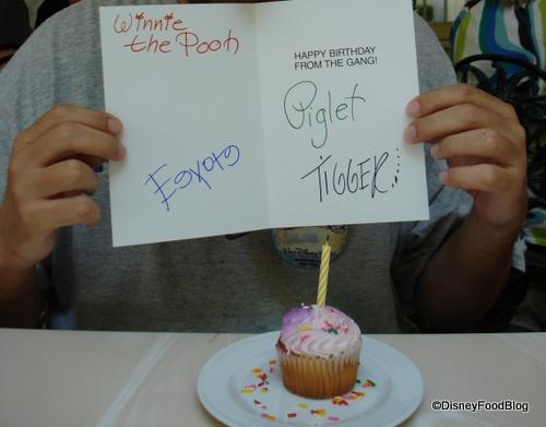Cupcake and Card at Crystal Palace