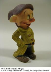 Walt Disney Family Museum Dopey Model
