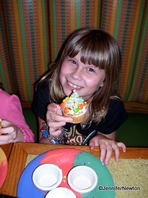 Garden Grill, Epcot Future World: Make Your Own Birthday Treat