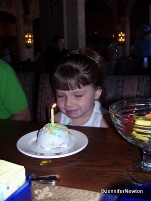 Cinderella's Royal Table, Magic Kingdom: Birthday Treat
