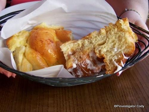 Pineapple Bread and Cinnamon Raisin Bread