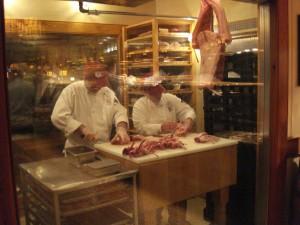 Butchering Room