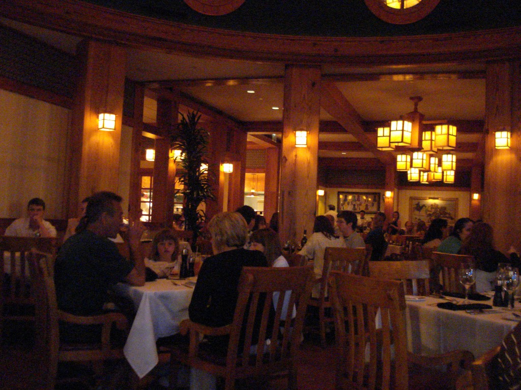 Dining Room at Yachtsman Steakhouse
