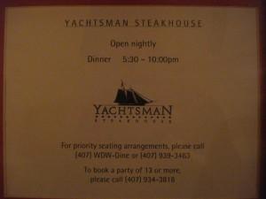 Yachtsman Info