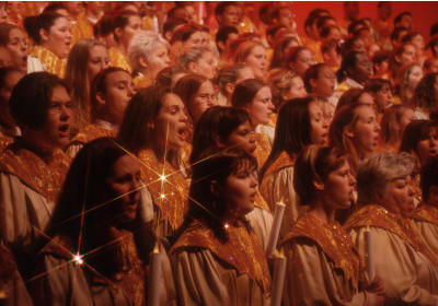 Candlelight Processional (copyright Disney)