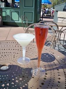 Grey Goose Citron Slush and Pomegranate Kir -- Photo (c) Kelly Tressler