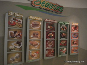 Sunshine Seasons Food Station Categories