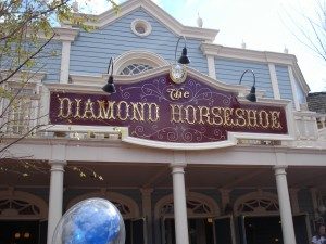 Head over to the Diamond Horseshoe for some grum...at least for now