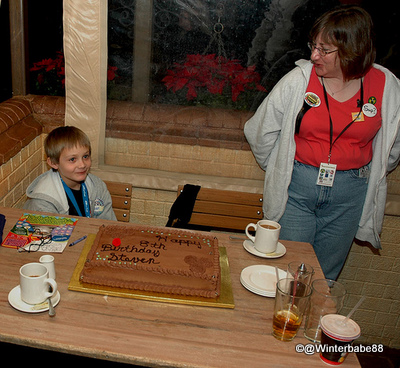 Rose and Crown Dining Room, Epcot World Showcase: Advance Reserved Cake