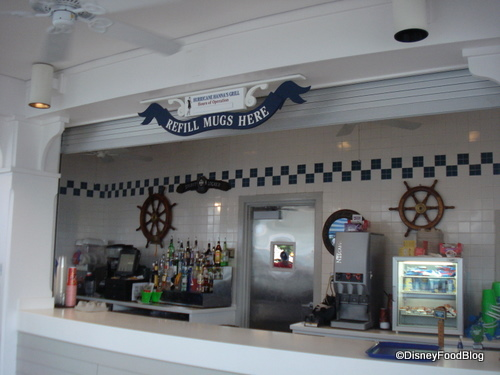 Hurricane Hanna's Bar and Grill Sections