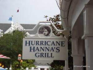 Hurricane Hanna's Sign