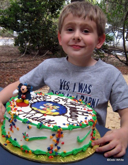 BIrthday Party at Disney World for a DFB Reader!