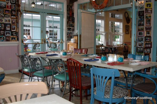 Olivia's Has a Relaxed, Casual Atmosphere