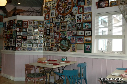 Dining Table and Photo Wall