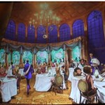 Sneak Peek! Disney's Be Our Guest Restaurant Ballroom!