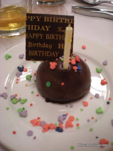 Cape May Cafe Birthday Treat