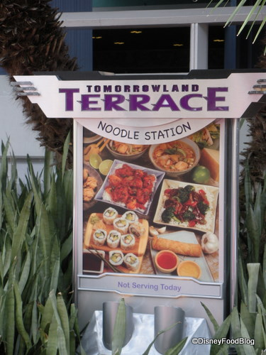 Tomorrowland Terrace Noodle Station