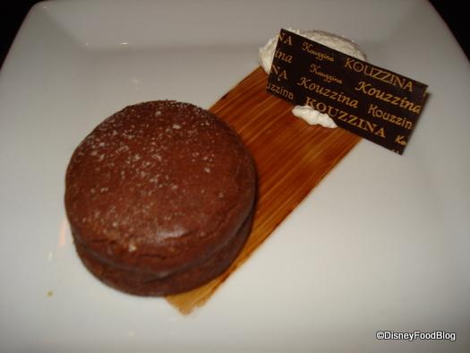 Chocolate Budino Cake