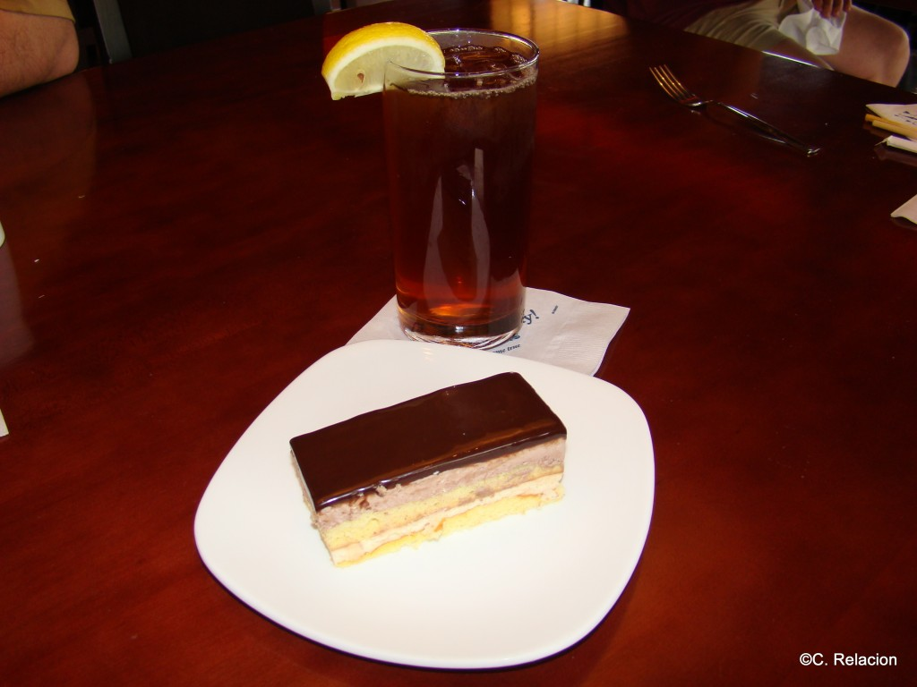Chocolate Ginger Cake
