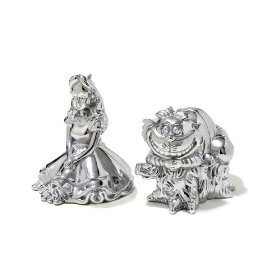 Disney Alice and cheshire Cat salt and pepper set