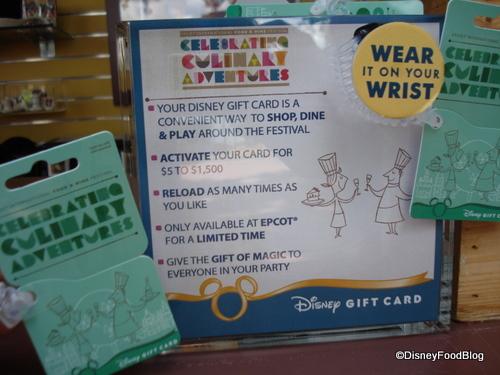 Wrist Gift Card