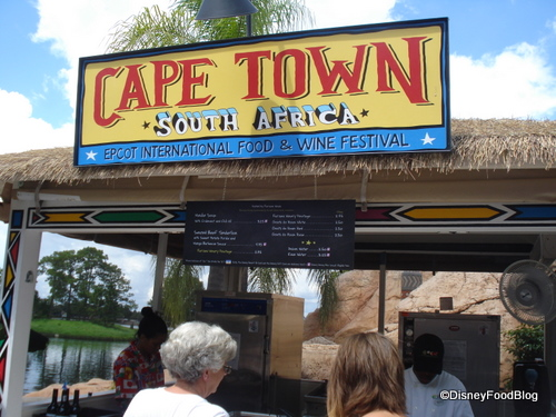 Cape Town was rustling up some great-smelling grub