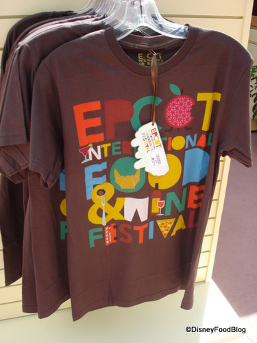 epcot food and wine festival tshirt