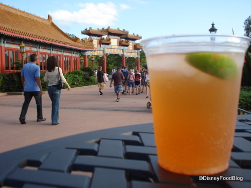 Epcot Food and Wine draws the crowds.