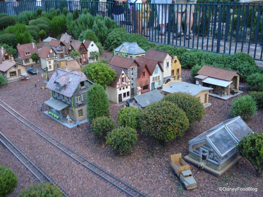 Germany Train Village