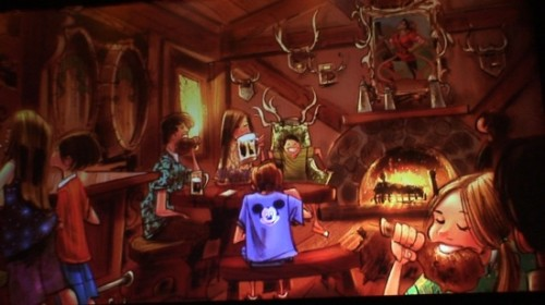 Gaston's Tavern Concept Art
