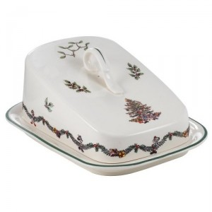 Spode Disney Cheese Wedge Plate and Cover