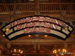 Wilderness Lodge Whispering Canyon Cafe