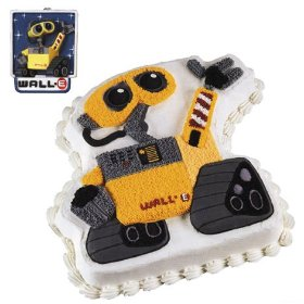 Disney Wall-E Cake Pan and Candle