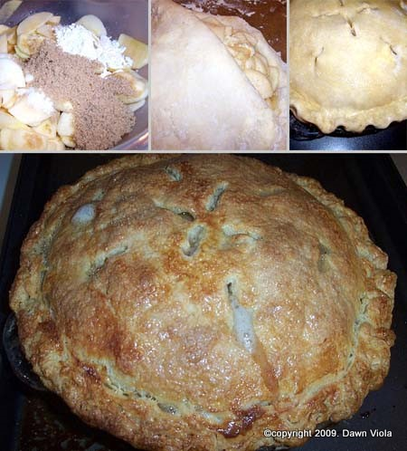 Dawn Viola's Apple Pie, Step by Step Photos