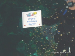 Celebrations at Coral Reef Restaurant in Epot