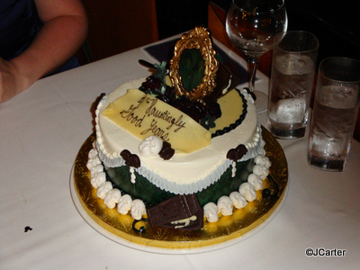 Haunted Mansion Cake
