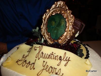 Haunted Mansion Cake