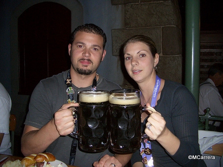 Celebrating With Steins!