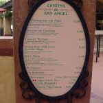 Cantina de San Angel's NEW Menu