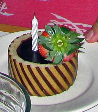 Cape May Cafe, Disney's Beach Club Resort: Birthday Treat