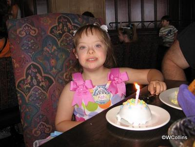 Princess Katy's Birthday Bash at Cinderella's Royal Table, Magic Kingdom: Birthday Treat