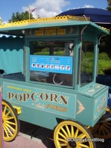 Nothin' like a little popcorn on a Solo Disney Day