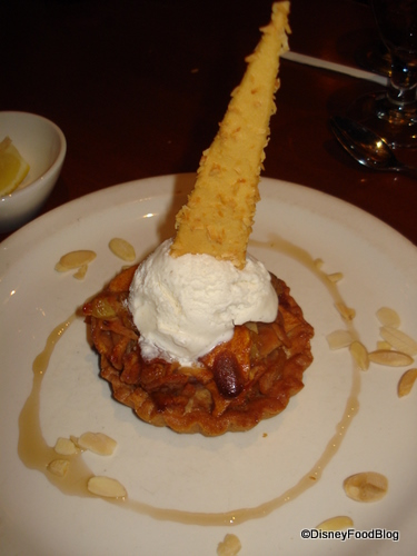 Le Cellier Warm Apple Tart