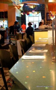 Counter Seating at Wolfgang Puck
