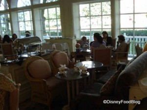 Tables for Tea at the Grand Floridian