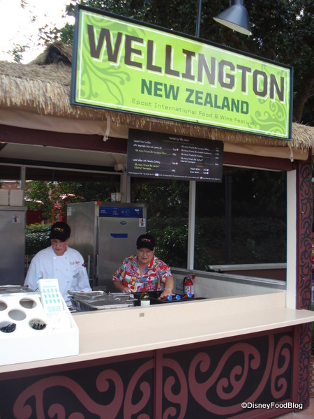 Wellington, New Zealand Booth